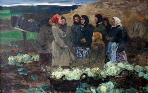 Рейхет Виктор Иосифович (1922-2000) «Солдатки»
