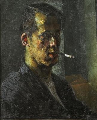 Владимир Малагис «Автопортрет» 1933 г. (Использован в предыдущей работе.)