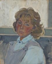Ирина Васильевна Шевандронова Автопортрет 1981 год