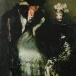 И.Э. Грабарь «Дама с собакой» 1899 год