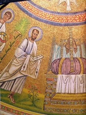 Мозаики церкви Сан Витале, VI век н.э.