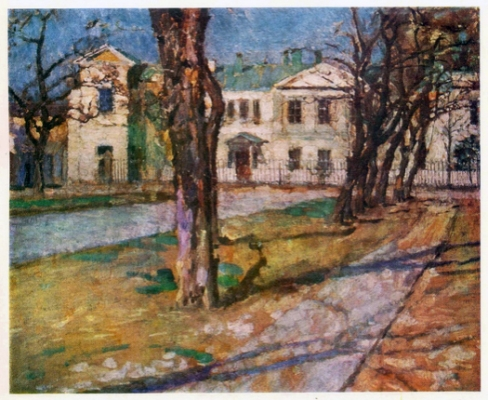 Синицкий В.М. Ранняя весна. 1924 г.