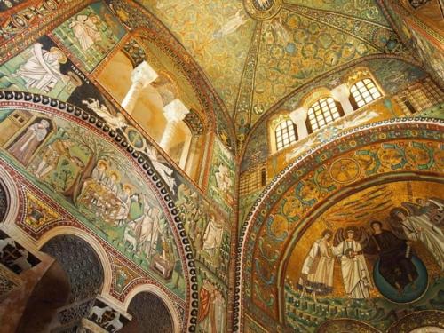 Равенна, мозаика в Церкви Сан Витале