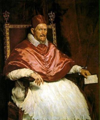 Диего Веласкес «Портрет папы Иннокентия X»