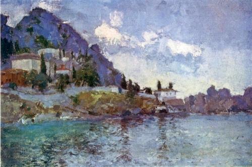 Синицкий В.М. Гурзуф. Генуэзская крепость. 1948 г.