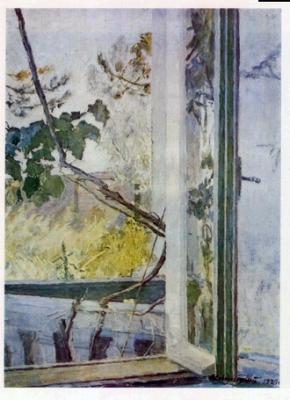 Синицкий В.М. Окно. 1929 г.
