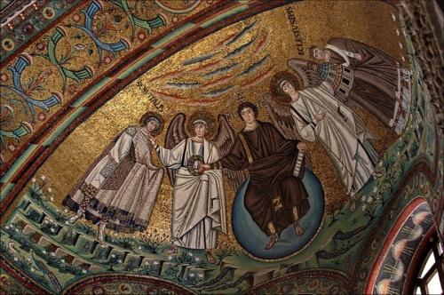 Мозаика в базилике ди Сан Витале