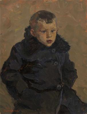 Ирина Шевандронова «Деревенский мальчишка»  1960 г.