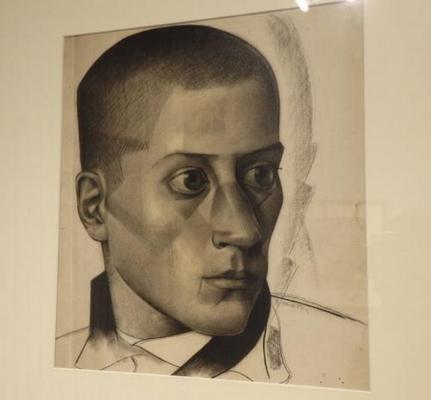 Владимир Малагис «Портрет молодого человека» 1924 г. Нижегородский художественный музей.