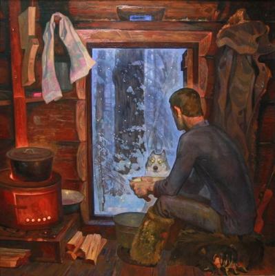 Вячеслав Самарин «Напарник (левая часть диптиха