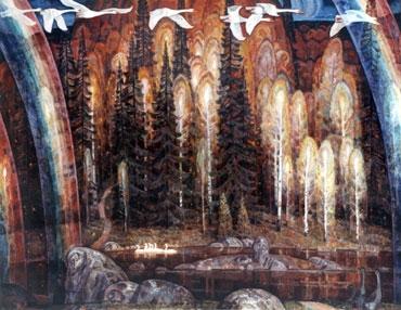 Вячеслав Самарин «Осень» 1994 г.