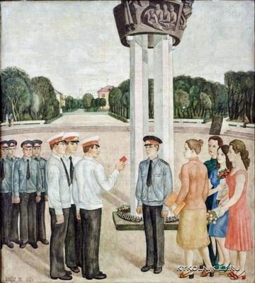 Виктор Ни «Посвящение в милиционеры»  1977 г.
