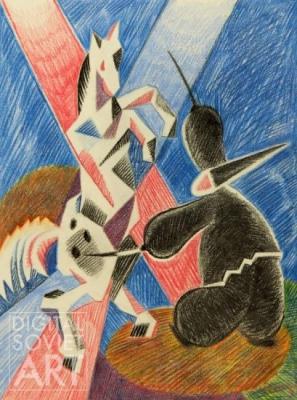 Татьяна Алёшина «Хорошее отношение к лошадям»