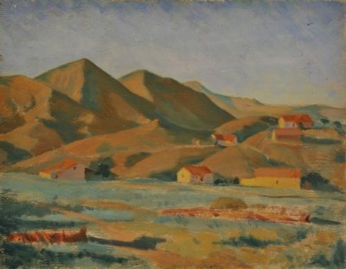 З.Я. Матвеева-Мостовая «Коктебель» 1925 г. ГРМ